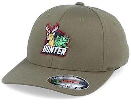 Kids Hunter Olive Flexfit - Hunter
