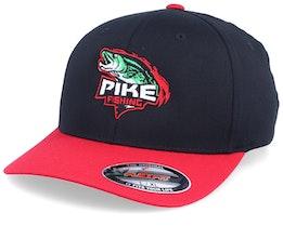 Pike Black/Red Flexfit - Hunter