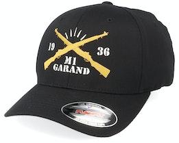 M1 Garand Black Flexfit - GUNS n SKULLS
