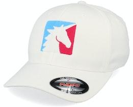 Unicorn Sport Logo White Flexfit - Unicorns