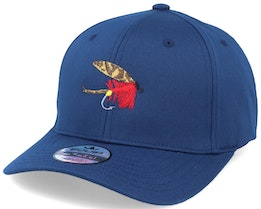 Quebec Fishing Fly  Navy Adjustable - Iconic