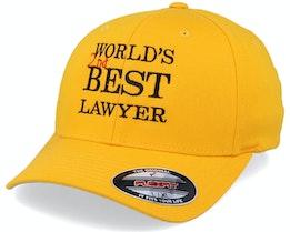World's Best Lawyer Gold Flexfit - Scenes