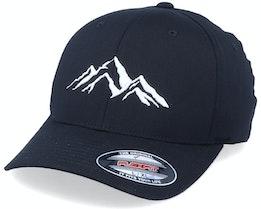 Mountain 3D Black Flexfit - Iconic