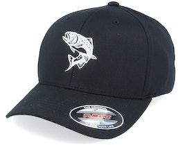 Trout Fish Black Flexfit - Hunter