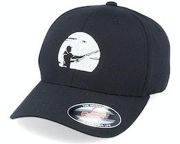 Fisher Silhouette Black Flexfit - Hunter