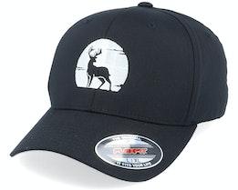 Deer Silhouette Black Flexfit - Hunter