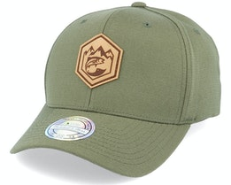 Mountain Badge Fish Patch Olive 110 Adjustable - Hunter