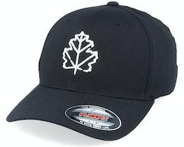 3D Maple Leaf Black Flexfit - Wild Spirit