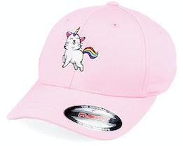 Kids Unicorn Kitty Pink Flexfit - Unicorns