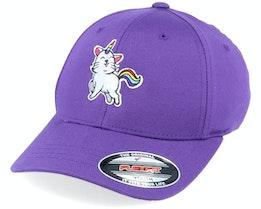 Kids Unicorn Kitty Purple - Unicorns