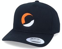 Circle Logo A-Frame Black Adjustable - Hatstore