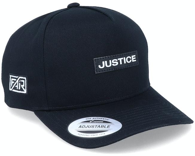 Justice Patch Curved A-Frame Black Adjustable - Fair