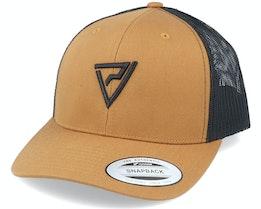Black 3D Insignia Caramel/Black Trucker - Padelville