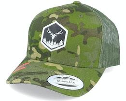Wilderness 3D Hex Tropic Multicam Trucker - Wild Spirit