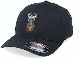 Horned Helmet Warrior Black Flexfit - Vikings