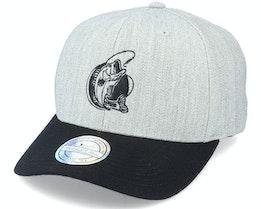 Fishing Logo 110 Grey/Black Adjustable - Hunter