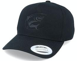 Oval Fishing Logo Black A-Frame Adjustable - Hunter