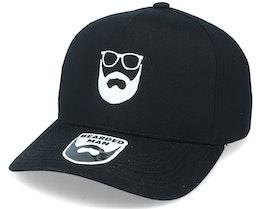 Logo Curved A-Frame Black Adjustable - Bearded Man