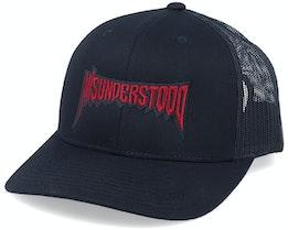 Misunderstood Black Trucker - Hatstore