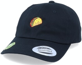 Organic Tiny Taco Black Dad Cap - Iconic
