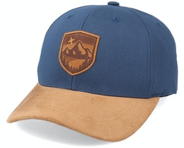 Starry Mountain Patch Navy/Suede Adjustable - Wild Spirit
