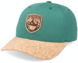 Starry Mountain Patch Spruce/Cork Adjustable - Wild Spirit