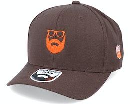 Wild Beard Movember Brown 110 Adjustable - Bearded Man
