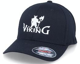 Viking Warrior Logo Black Flexfit - Vikings