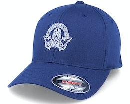Odin Wolves Logo Navy Flexfit - Vikings