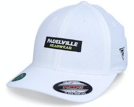 Logo Box Hydro Grid White Flexfit - Padelville