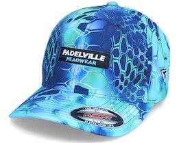 Logo Box Pontus Kryptek Blue Flexfit - Padelville