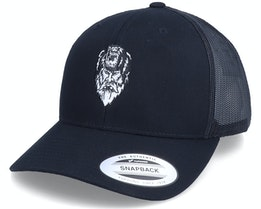 Bear Zerk Viking Shaman Black Trucker - Vikings