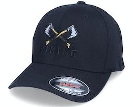 Axe Cross Logo Black Flexfit - Vikings