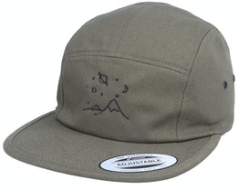 Mountain Space Gazing Olive 5-Panel - Abducted