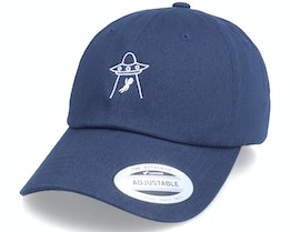 See You Later Ufo Navy Dad Cap - Abducted