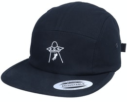 See You Later Ufo Black 5-Panel - Abducted