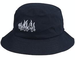 Kammi x Hatstore - Flames Black Bucket