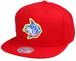Manny x Hatstore The Sunfish Red Snapback - Iconic