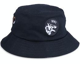 Hatstore Exclusive x Khamzat Patch Black Bucket - Borz
