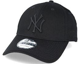 New York Yankees MLB League Ess Black 9forty Adjustable - New Era
