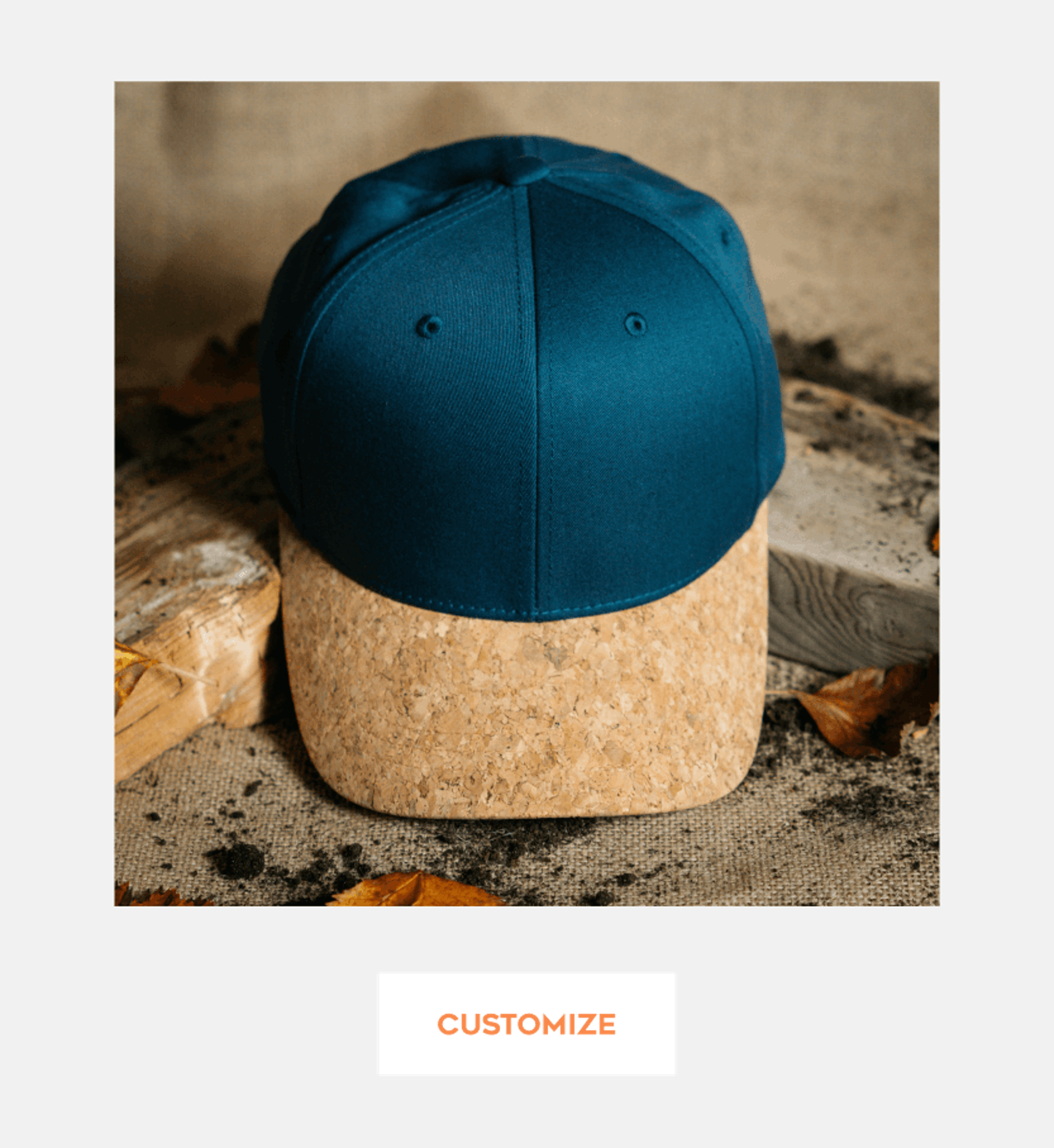 CUSTOMIZE WITH CORK